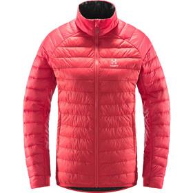 Haglöfs Rapid Mimic Jacket Women, czerwony